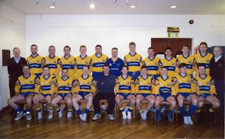 Gaels Senior Team - approx 2000